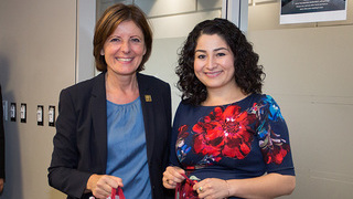 Foto: Malu Dreyer und Maryam Monsef