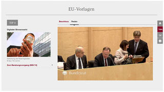 Screenshot: Ansicht Plenum KOMPAKT