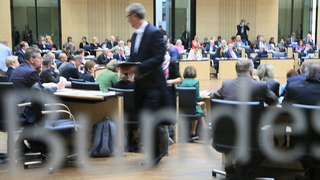 Foto: Bundesrat members in the plenary hall